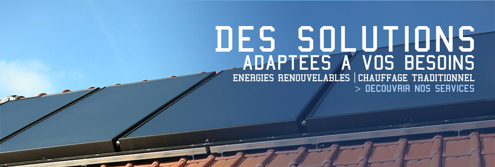 Energies Renouvelables | Chauffage Traditionnel
